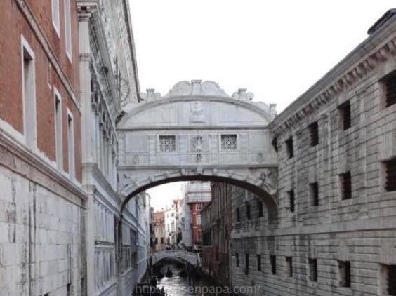 イタリア ため息橋