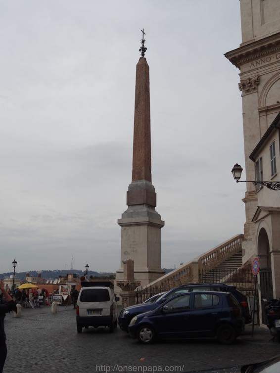 スペイン広場 ローマ 新婚旅行 01788
