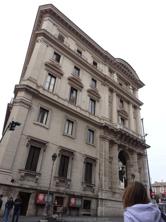 スペイン広場 ローマ 新婚旅行 01752