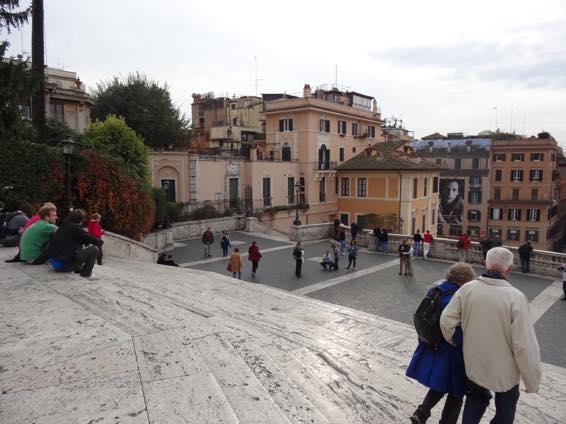 スペイン広場 ローマ 新婚旅行 01792