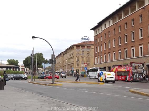 フィレンツェ ローマ 移動 DSC01677