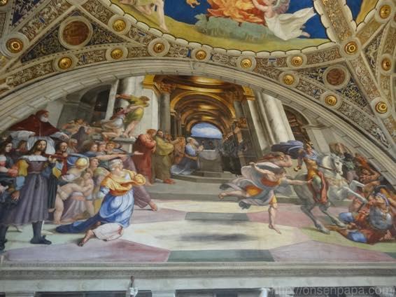 バチカン美術館 天国への入口 02526