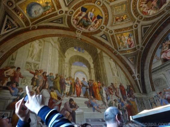 バチカン美術館 天国への入口 02531