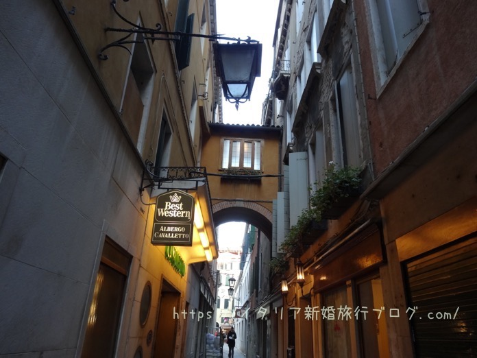 ベネチア イタリア 新婚旅行 ブログ DSC00155